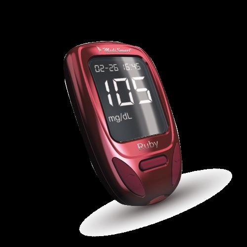 Glucómetro-Medismart-Ruby
